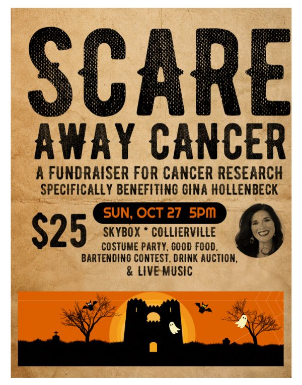 Scare Away Cancer Sun Oct 27 2019